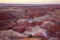 USA - Arizona, Petrified Forest National Park, Painted Desert (15/08/2012)
