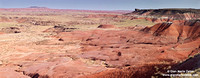 USA - Arizona, Petrified Forest National Park, Painted Desert (16/08/2012)