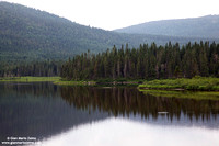 Canada - Quebec, Parc National de la Gaspésie, Lac Paul (2011)
