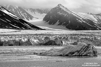 Norway, Svalbard Islands - Liefdefjorden, Monaco glacier (2010)